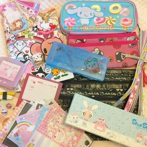 Kawaii Lot Wallet, Pouches, Charms
